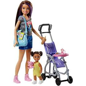 Barbie Skipper Babysitters Inc. Doll and Playset FJB00