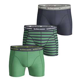Björn Borg Stripe Essential Shorts 3-Pack