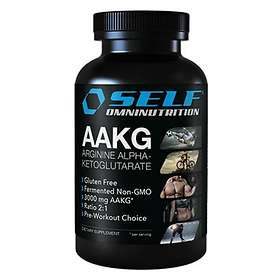 Self Omninutrition Arginin AAKG 100 Tabletter