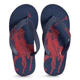Ralph Lauren Logo Flip Flops (Unisex)