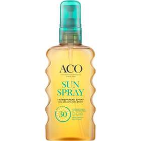ACO Transparent Sun Spray SPF30 175ml
