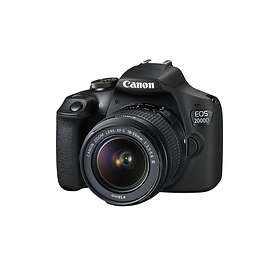 Canon EOS 2000D + 18-55/3,5-5,6 III