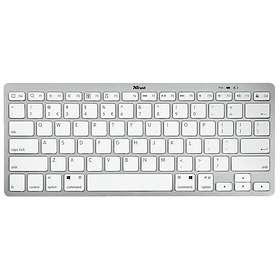 Bra Trust Nado Wireless Bluetooth Keyboard (Nordisk) - Hitta bästa CF-22
