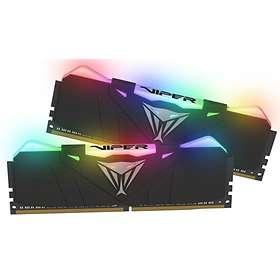 Patriot Viper Black RGB LED DDR4 3000MHz 2x8GB (PVR416G300C5K)