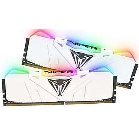Patriot Viper White RGB LED DDR4 3200MHz 2x8GB (PVR416G320C6KW)