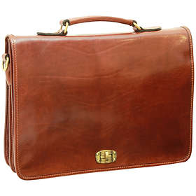 Old Angler Toscana Collection Briefcase Bag (0184)