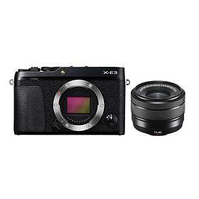 Fujifilm X-E3 + 15-45/3.5-5.6