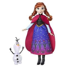 Disney Frozen Northern Lights Anna Doll B9200