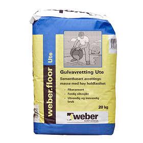 Weber Saint-Gobain Gulvavretting Ute (20kg)