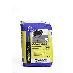 Weber Saint-Gobain Gulvavretting Hurtig (20kg)