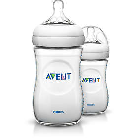 Philips Avent Natural Bottle 260ml 2-pack