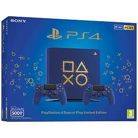 Sony PlayStation 4 (PS4) Slim 500Go - Days of Play Edition