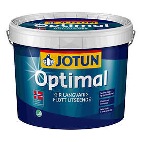 Jotun Optimal Täckfärg Vit 0.68l