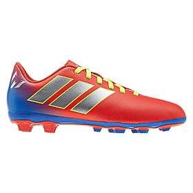 9a1547b4a Find the best price on Adidas Nemeziz Messi 18.4 FxG (Jr)