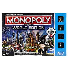 Hasbro Monopoly Here & Now: World Edition