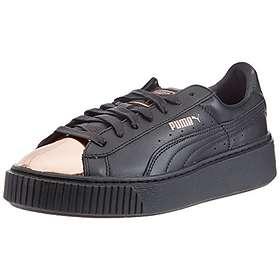 pretty nice 9ec75 1b069 Puma Basket Platform Metallic Leather (Women's)