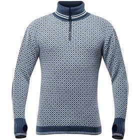 Devold Slogen Neck Sweater Half Zip (Jr)
