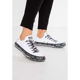 d7815cb1c441 Find the best price on Converse x Miley Cyrus Chuck Taylor All Star Canvas  Low (Women s)