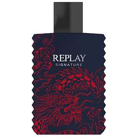 Replay Signature Red Dragon For Him edt 50ml