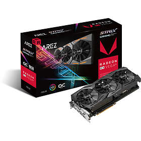 Asus Radeon RX Vega 56 Arez Strix Gaming OC 2xHDMI 2xDP 8Go