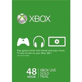 Microsoft Xbox Live Gold 2 Days Card