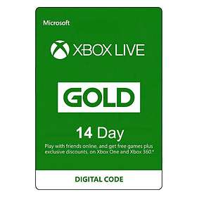 Microsoft Xbox Live Gold 14 Days Card