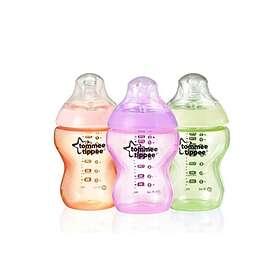 Tommee Tippee Colour My World Feeding Bottles Set 260ml 3-pack