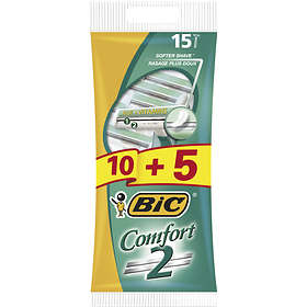 Bic Comfort 2 Disposable 15-pack
