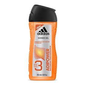 Adidas Adipower Face Hair & Body Shower Gel 400ml