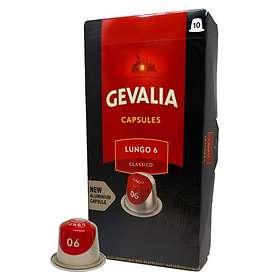 Gevalia Nespresso Lungo 6 Classico 10st (kapslar)