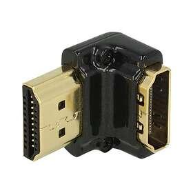 DeLock HDMI - HDMI F-M 4K Adapter 90° Down