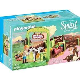 """Playmobil Spirit Riding Free 9480 Hästbox """"Abigail och Boomerang"""""""