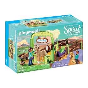 Playmobil Spirit 9479 Horse Box 'Pru & Chica Linda'