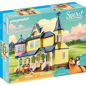 Playmobil Spirit Riding Free 9475 Luckys lyckliga hem