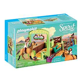 "Playmobil Spirit Riding Free 9478 Hästbox ""Lucky och Spirit"""