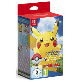 Pokémon: Let's Go, Pikachu! (ml. Pokéball Plus) (Switch)