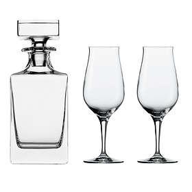 Spiegelau Premium Whisky Karaff med 2 Dricksglas