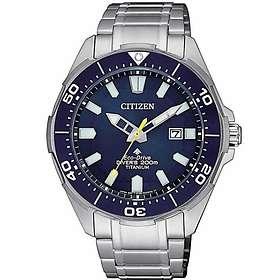 Citizen Promaster Diver's Eco Drive 200M Super Titanium BN0201-88L