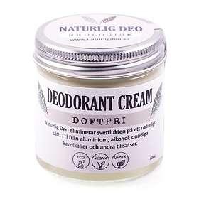 Naturlig Deo-Ekologisk Doftfri Deo Cream 60ml
