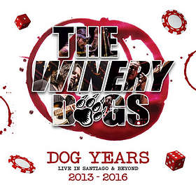 The Winery Dogs: Live in Santiago and Beyond (BD+CD)
