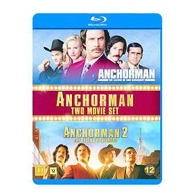 Anchorman 1 + 2 (FI)