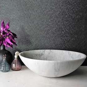 Bathlife Solid Carrara SLD 435 (Hvit)