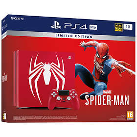 Sony PlayStation 4 Pro 1TB (inkl. Marvel's Spider-Man) - Limited Edition