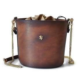 Pratesi Secchiello In Cow Leather Crossbody Bag