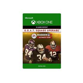 Madden NFL 18: G.O.A.T. Squads Upgrade (Expansion) (Xbox One)