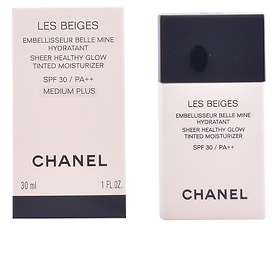Chanel Les Beiges Sheer Healthy Glow Tinted Moisturizer Foundation SPF30 30ml