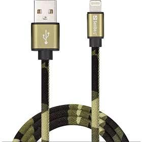 Sandberg Camouflage USB A - Lightning 1m