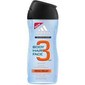 Adidas Total Relax 3in1 Shower Gel 250ml