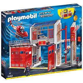 Playmobil City Action 9462 Stor Brandstation