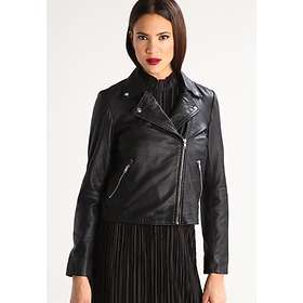 9a7ca673 Best pris på Selected FEMME Marlen Leather Jacket (Dame) Jakker ...